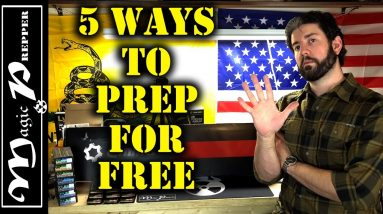 5 Ways To Prep For SHTF Without Money | SHTF Prepping On A Budget