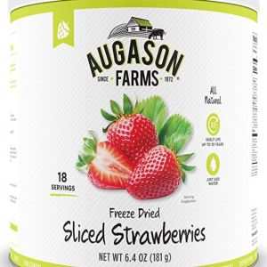Augason Farms Freeze Dried Sliced Strawberries