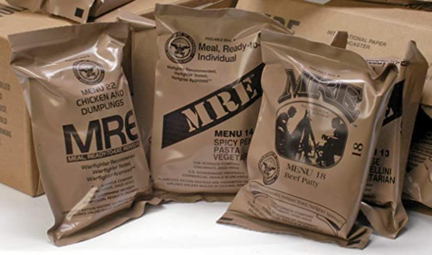 MREs Genuine U.S. Military Surplus Assorted Flavor