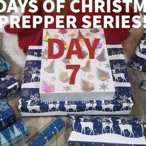 (DAY 7) The 12 Days of Christmas: Prepper Series!