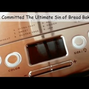 BAKE YOUR OWN BREAD WITHOUT GETTING YOUR HANDS DIRTY & STILL PAY LESS THAN WHAT YOU PAY AT THE STORE