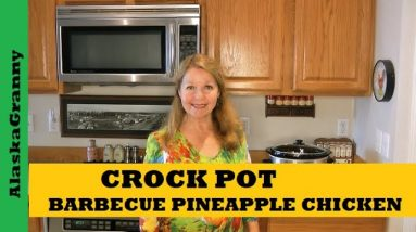 Crock Pot Pineapple Chicken - Easy Pineapple Chicken Pantry Clean Out Recipe From Food Storage