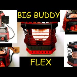 Mr. Heater BUDDY FLEX & COOKER - FULL REVIEW