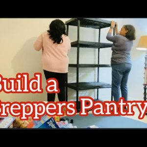 Building our Preppers Food Pantry | Emergency Food Pantry | Short Preppers Pantry Tour