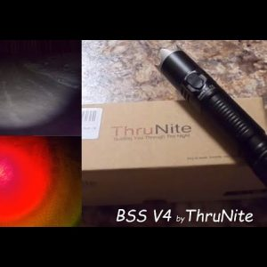 BSS V4 Tactical Flashlight by ThruNite; Review & Giveaway Entry Video