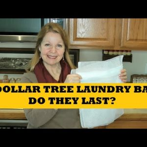 Dollar Tree Laundry Bags - Do They Last? Are They A Good Buy?