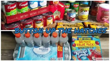 Emergency Stockpile Prepper Pantry Haul - Buttoning Up the Hatches
