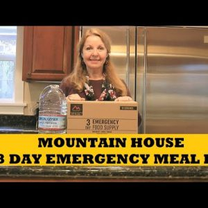 Mountain House 3 Day Meal Kit Review