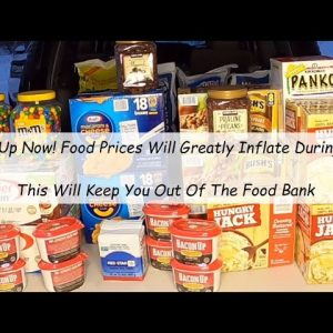 PAY DAY PREPS WILL KEEP YOU OUT OF FOOD LINES & OUT OF THE SUPERMARKETS WHEN OTHERS ARE PANIC BUYING