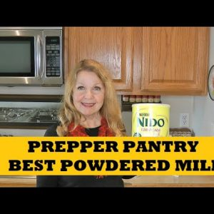Prepper Pantry Best Powdered Milk Nido Fortificada  Walmart Food Storage Milk
