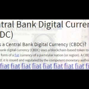 INDENTURED SERVITUDE: THE TERRIBLE CONSEQUENCES OF A CENTRAL BANK DIGITAL CURRENCY - PATREON VIDEO