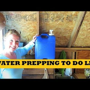 Water Prepping To Do List - How To Store Water For Emergencies