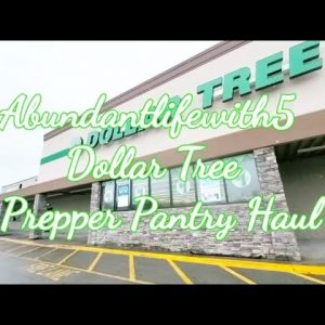 Dollar Tree Prepper pantry Haul There is a Seed shortage Check Your Local Dollar Tree For Seeds