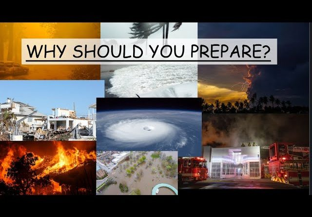 THIS IS WHY YOU SHOULD BE PREPARED - YOU NEVER KNOW WHEN ITS GOING TO BE YOU