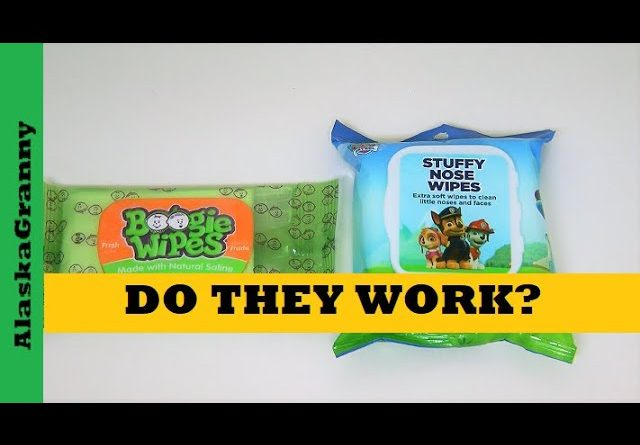 Baby Boogie Wipes Paw Patrol Stuffy Nose Wipes Do They Work