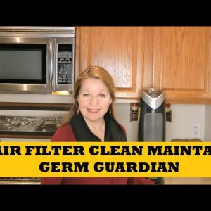 Air Filter Clean and Maintain Germ Guardian Air Filter - Help Your Filter Last Longer