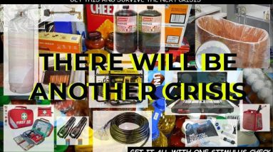 MUST WATCH: DIY DISASTER SURVIVAL KIT; DONT BE A VICTIM - THE GOV'T WILL NOT COME TO YOUR RESCUE