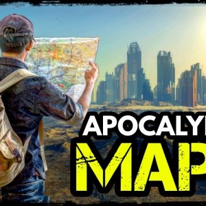 Making an Apocalypse Supply Map