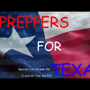 PREPPERS FOR TEXAS