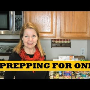 Prepping For One - How To Start Prepper Pantry Emergency Gear