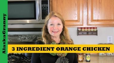 3 Ingredient Orange Chicken Sauce Pantry Clean Out Recipe From Food Storage