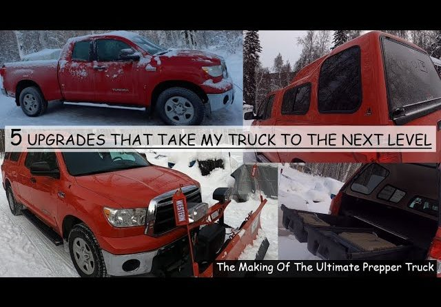 5 UPGRADES THAT'S TURNING MY TOYOTA TUNDRA INTO THE ULTIMATE ALASKAN PREPPER TRUCK