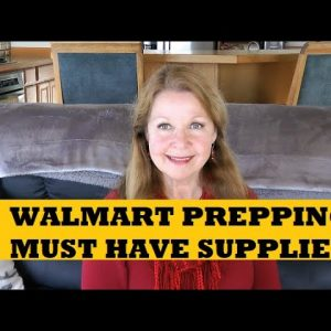 Walmart Prepping Gear - Must Have Supplies - Alaska Walmart Prices