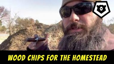 Wood chips for the Homestead