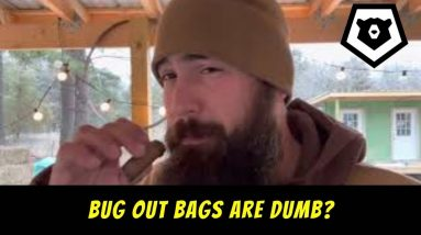 Bug Out Bags are Dumb? VR to Rogue Preparedness