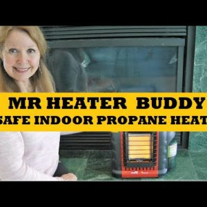 Mr Heater Buddy Indoor Portable Propane Heater