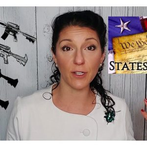 Nullification:  States Will Tell the Feds F* Off on 2A.  WATCH THIS!