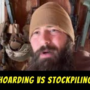 Prepper Hoarding vs Stockpiling for SHTF