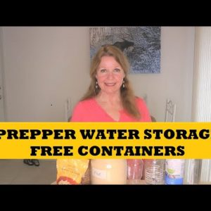 Prepper Water Storage - Free Prepping Supplies
