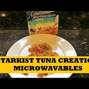 Starkist Tuna Creations Microwave Tuna Thai Green Chili Review