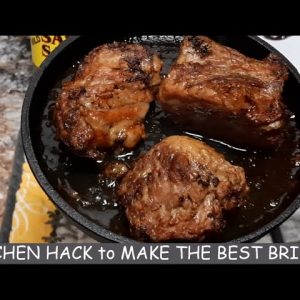 """BEST BRISKET EVER - NO """"BARBECUE"""", """"OVEN"""", OR """"SMOKER"""" REQUIRED - 20 MINUTE PREP TIME"""