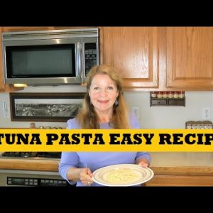 Tuna Pasta Prepper Pantry Clean Out Recipe Cooking With Food Storage Easy Meal