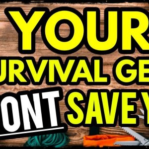 The Truth: Survival Gear Wont Save You From Whats Coming