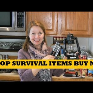 Top Survival Items To Buy Now - Prepping To Shelter At Home