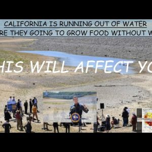CALIFORNIA WATER TRADED AT 60% HIGHER THAN A MONTH AGO AS IT STRUGLES WITH MEGADROUGHT CONDITIONS