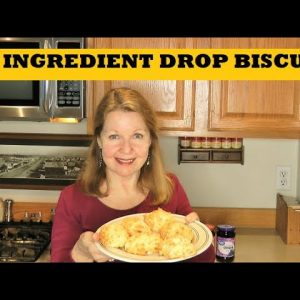 3 Ingredient Drop Biscuits - Prepper Pantry Easy Bread Options