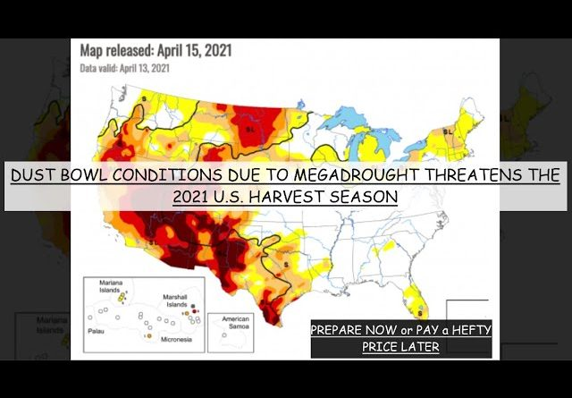 BREAKING: FARMERS WARN OF MEGADROUGHT & DEVESTATING CROP FAILURE IN 2021