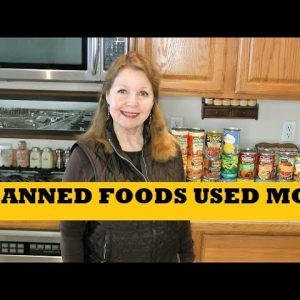 Canned Food Used Most - Top Canned Foods For Food Storage