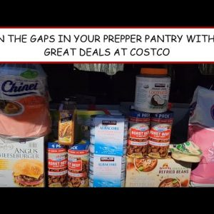 """CHECK OUT THESE GREAT DEALS I FOUND FOR THE PREPPER PANTRY AT """"COSTCO"""""""