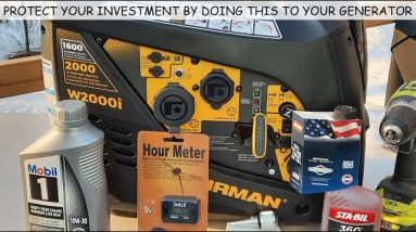 EXTEND THE LIFE OF YOUR GENERATOR BY DOING THESE (5) FIVE SIMPLE THINGS