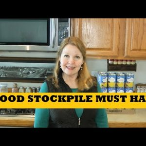 Food Stockpile Must Haves - Survive From Your Prepper Pantry