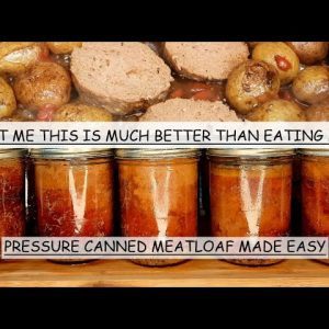 CANNING MEATLOAF FOR MY PREPPER PANTRY | ORIGINAL RECIPE FOR SUPPER EASY MEALS