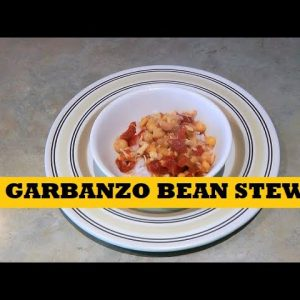 Garbanzo Chickpea Stew Prepper Pantry Clean Out Recipe - Cooking With Food Storage