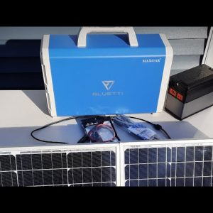 HOW TO CONNECT YOUR SOLAR PANELS TO YOUR SOLAR GENERATOR