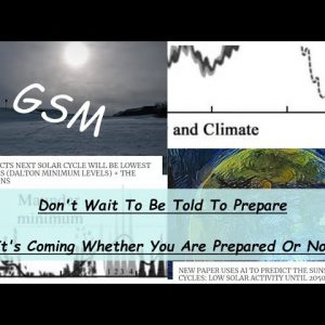 IT's COMING & IT DOESN'T CARE IF YOU ARE PREPARED OR NOT