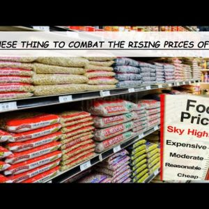 NOW THAT WE KNOW FOOD PRICES ARE GOING UP WHAT CAN WE DO ABOUT IT?